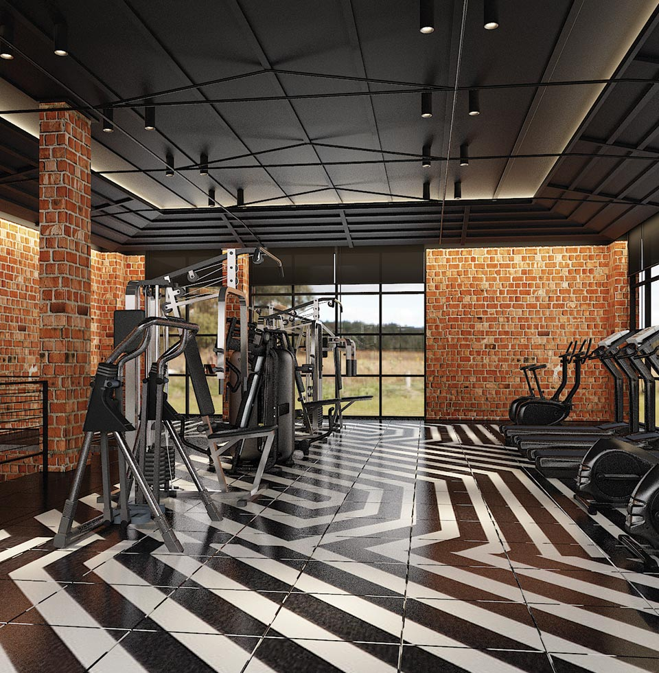 Northbank Clubhouse Gym