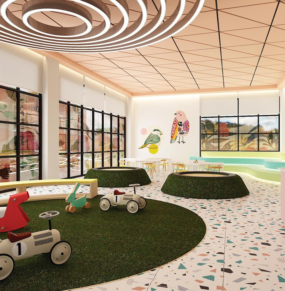 Northbank Clubhouse Kid's Play Area