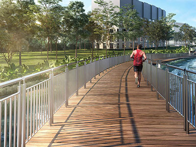 Jogging Cycling Paths