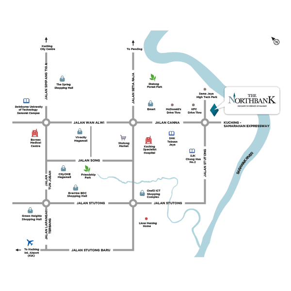 The NorthBank Locality Map