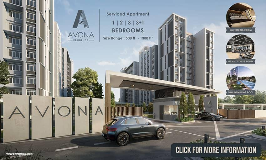Avona Residence - Serviced Apartment