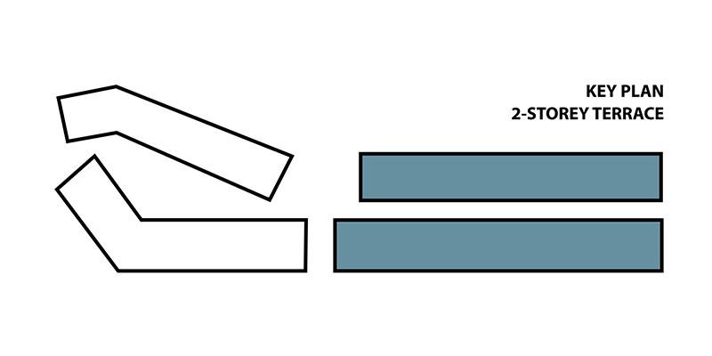 2-storey Terrace Key Plan