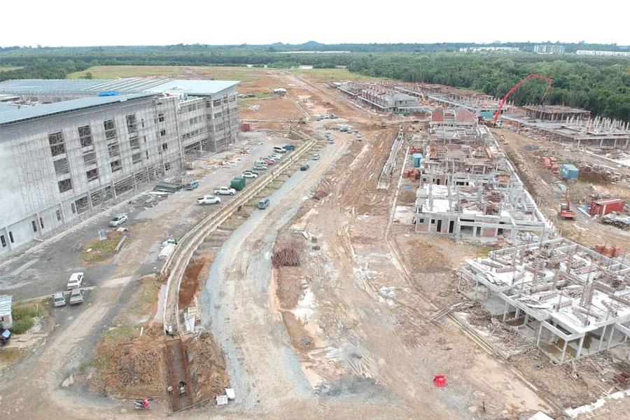 Site Progress March 2019