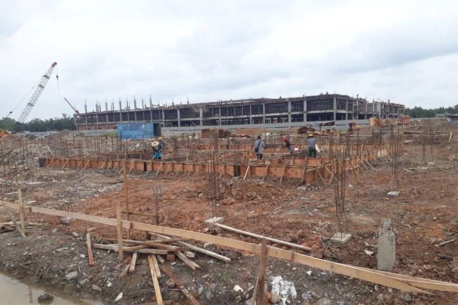 Site Progress October 2018